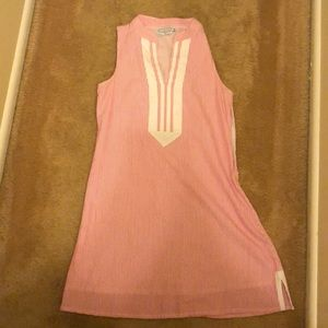Duffied Lane pinstripe dress